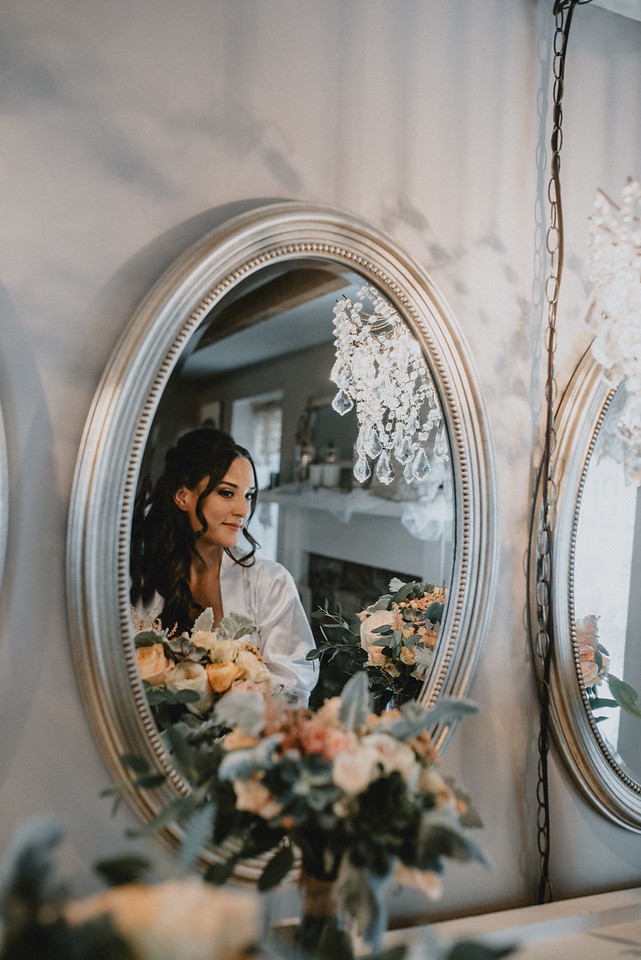 Bridal suite mirror